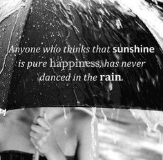 I love rainy days....