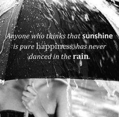 I love rainy days....