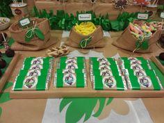 Diseño y decoración de eventos # sevilla # cumpleaños # libro de la selva# chocolatinas personalizadas de baloo.