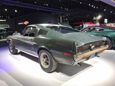 Mustang Fastback 1968, 1968 Mustang Gt, Mustang Cars, Steve Mcqueen Bullitt Mustang, Mustang Bullitt, Cool Car Pictures, Car Pics, Peugeot, Hollywood Homes