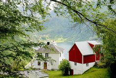 Farm with a view, Norway