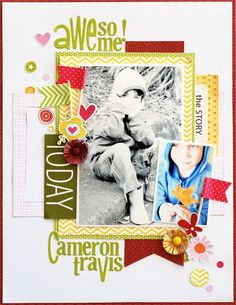 Bella Blvd NEW! Mixing and Matching Bella Blvd products. Awesome Layout by DT Member Leanne Allinson.