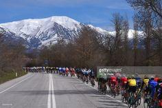 #Tirreno 52nd Tirreno-Adriatico 2017 / Stage 5 Landscape / Peloton / Mountains / Snow / Rieti - Fermo (210km) /