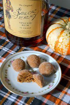 Tattooed Martha - Pumpkin Spice Rum Balls (7)