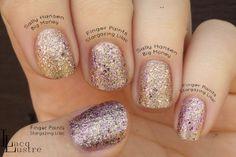 Finger Paints Stargazing Lilac comparison Sally Hansen Big Money