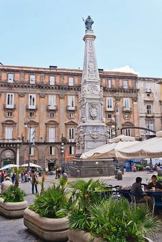Naples, Italy Spent just part of a day in 1965 with my mother here. This area sparks a memory