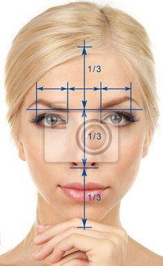 golden proportion face - Szukaj w Google
