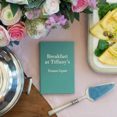 Breakfast at Tiffany's Leather Bound Edition — Weston Table Breakfast At Tiffanys, American Idioms, Holly Golightly, Leather Bound Books, Tableware, Sweet, Book Collection, Dinnerware