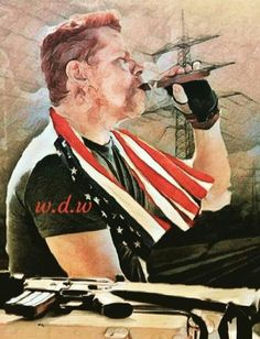 THE MEMORY OF ABRAHAM FORD Walking Dead Fan Art, Amc Walking Dead, Abraham Twd, Twd Memes, Stuff And Thangs, Norman Reedus, Action Movies, Caricature, Serie Tv