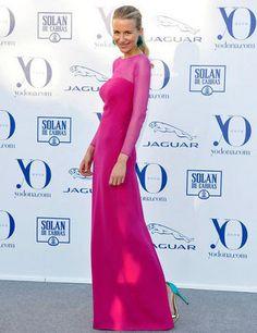 Maria Leon en la VIII edicion de lo Premios Internacionales Yo Dona