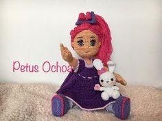 Empezamos a tejer Muñeca Carolina (piernas) amigurumi By Petus PRIMERA PARTE (1/8) - YouTube