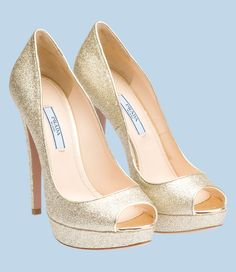 zapato mujer prada glitter