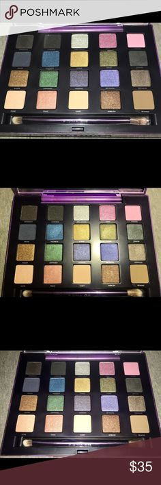 Vice 2 eyeshadow palette Basically new never used only swatched 20 eyeshadow colors worth over $200 Urban Decay Makeup Eyeshadow
