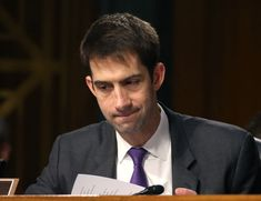 Republican Tom Cotton has hissy fit, exposes himself as massive and vindictive hypocrite. He blocked Obama's choice for an ambassador post. When she went to see him about it, he explained it was because she was a friend of the president, he wanted to inflict pain on him...