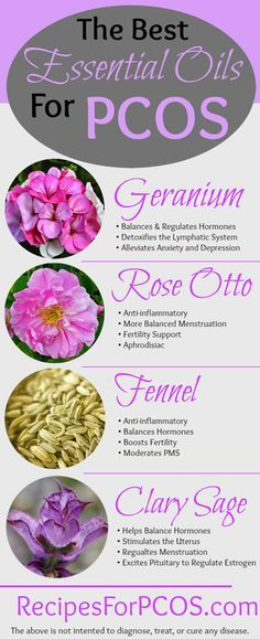 The Best Essential Oils For Women With PCOS