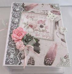 Handgemachtes Fotoalbum Rosen Quartz Scrapbook Album Rosen Quartz Fotobuch Scrapbooking Album, Decorative Boxes, Quartz, Gift Wrapping, Etsy, Gifts, Photos, Handmade Photo Album, Small Paintings