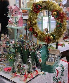 Trees in Santa mugs