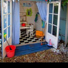 Play house, cute decor inside this playhouse!