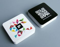 30+ Creative and Unique Mini Square Business Cards Design