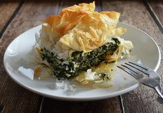Vegan Spanakopita! Quite possibly my favorite dish on this planet :) I was challenged to find a way to create a vegan version of this recipe. The two types of ...