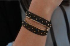 Fun Zipper Bracelet