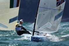 GB sailer Giles Scott at Rio 2016
