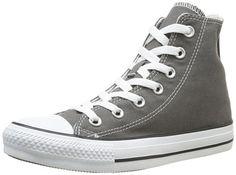 Converse Chuck Taylor All Star, Unisex-Erwachsene Hohe Sneakers, Grau (Charcoal), EU 39.5 EU - http://autowerkzeugekaufen.de/converse/39-5-converse-ctas-season-hi-1j791-herren-sneaker