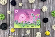 Interactive Cards, Lawn Fawn, Dandy, Cardmaking, Iris, Stamping, Paper Crafts, Magic, Type