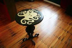 """Design company called """"Because We Can"""" does amazing stuff with the cnc router, like this inlay table"""