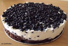 Aesthetic Food, Tiramisu, Cheesecake, Food And Drink, Cooking Recipes, Impreza, Sweets, Cookies, Chocolate