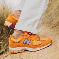 Release Date : October 23, 2020 New Balance x Salehe Bembury ML2002R1 Orange Credit : FootPatrol — #newbalance #sneakerhead #sneakersaddict #sneakers #kicks #footwear #shoes #fashion #style