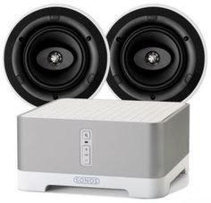 Sonos Connect Amp + KEF Ci160CR Ceiling Speakers (£630)