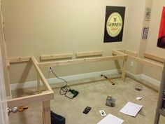 diy floating desk L shape | Re: Show your DIY Ideas and Projects