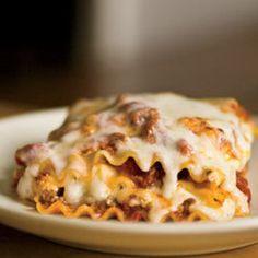 Lasagna! Love on a plate