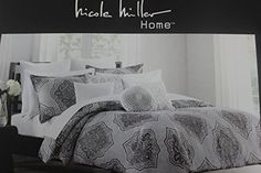 Nicole Miller Grey Purple Queen Full Duvet Cover Set Cotton Nicole Miller http://www.amazon.com/dp/B00OL6VSDW/ref=cm_sw_r_pi_dp_Dulzub1CP507B