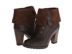 Timberland Earthkeepers® Stratham Heights Waterproof Fold-Down Brown - 6pm.com