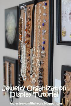 Pretty Jewelry Organization