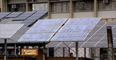 Mercado de energia solar é aposta de pequenos empresários