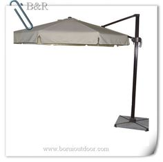 3m offset hanging umbrella with flap for sale-parasol for wholesale丨buy big parasol from china