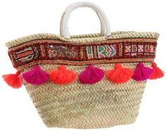 ShopStyle: [ファティマモロッコ] Fatima Morocco インドテープバスケット 12SS-AUG10 PK
