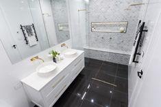 The Block week 3 room reveals: master bathrooms - The Interiors Addict