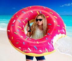 Gigantic Donut Pool Float $19.99