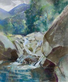 untitled mountain stream