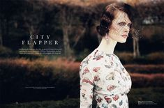 City Flapper | Ilva Heitmann | Oliver Stalmans #photography | Elle Denmark March 2012