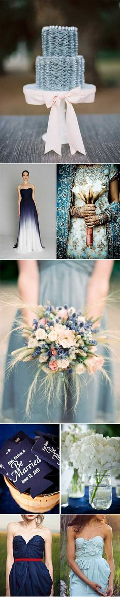 Love the whisps coming out of this flower piece...  Something Blue The Theme // Something Blue The Theme something blue Lana Del Rey Blue Velvet  wedding inspiration wedding dresses wedding accessories style inspiration inspiration found and beautiful