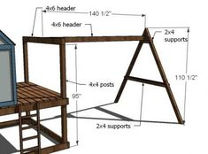 diy swing set plans \ diy swing set + diy swing set plans + diy swing set playhouse + diy swing set easy + diy swing set playhouse plans + diy swing set plans free + diy swing set with slide + diy swing set plans simple Build A Swing Set, Diy Swing, Swing Sets, Wooden Swing Set Plans, Kids Outdoor Play, Backyard For Kids, Toddler Outdoor Swing, Outdoor Fun, Backyard Playset