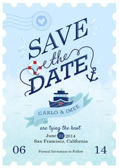 Save-the-Date on Behance