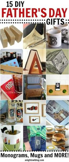 15 Fabulous DIY Father's Day Gifts by darcy
