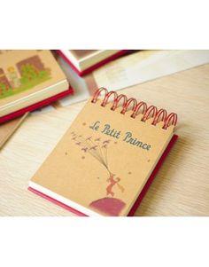 """Cuaderno de notas con espiral """"El Principito"""""""