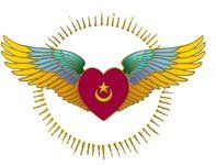 Image for tattoo Sufi Heart and Wings